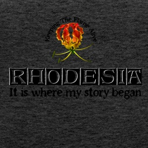 Rhodesia Story Begins Black - Women's Premium Tank Top