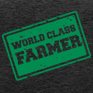 Farmer / Farmer / Farmer: World Class Farmer - Women's Premium Tank Top