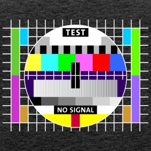 Testbild Display screen test card signal Big Bang - Frauen Premium Tank Top