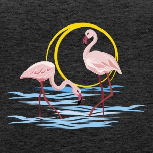 flamingoer - Premium singlet for kvinner
