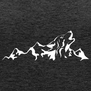 Mountain Wolf - Women's Premium Tank Top