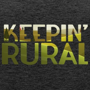Farmer / Landwirt / Bauer: Keepin´ Rural - Frauen Premium Tank Top