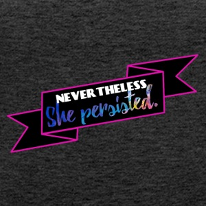 She persisted! - Women's Premium Tank Top
