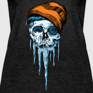 Snow Skull - Frauen Premium Tank Top