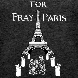 Pray for Paris - Frauen Premium Tank Top