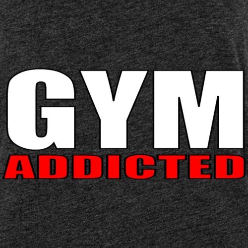 GYM Addicted - Canotta premium da donna