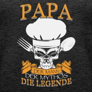 Papa cook - Frauen Premium Tank Top