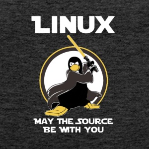 may_the_linux_source - Débardeur Premium Femme