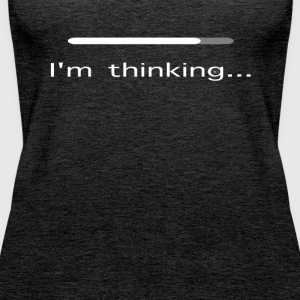 I'm thinking - Women's Premium Tank Top