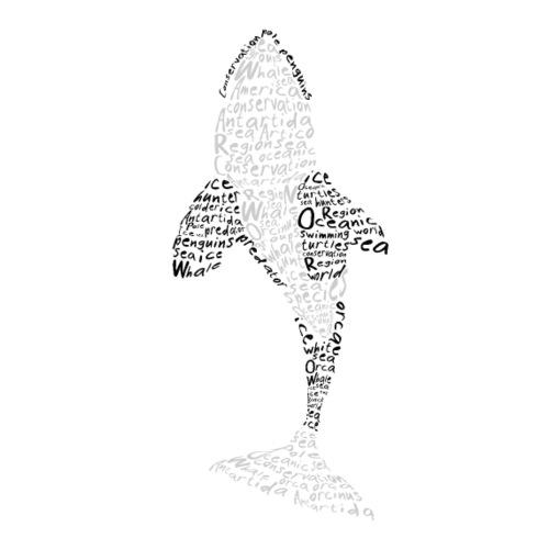 orca marina tipografica - bluecontest - Camiseta de tirantes premium mujer