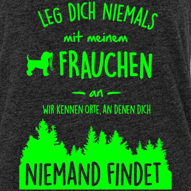 Vorschau: Mein Frauchen - Frauen Premium Tank Top