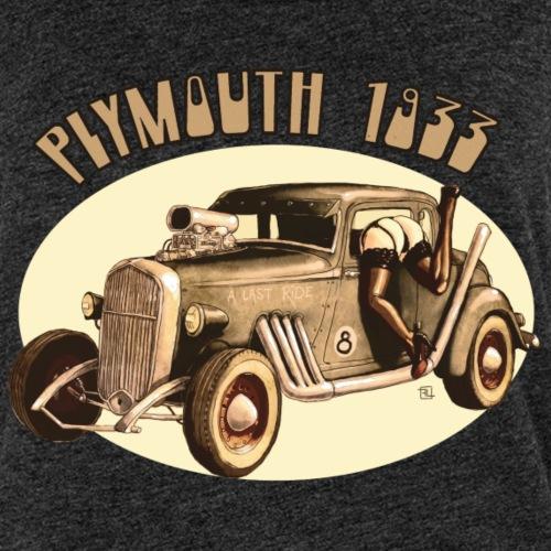 Vintage Plymouth 1933 - Débardeur Premium Femme
