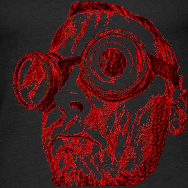 Face Tegner Red Grande
