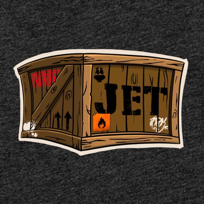 Jet Cartoon Wood Box