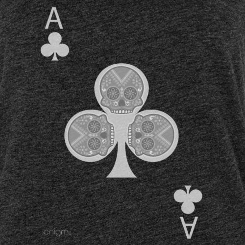 Ace of clubs -gray version- The skulls players - Débardeur Premium Femme