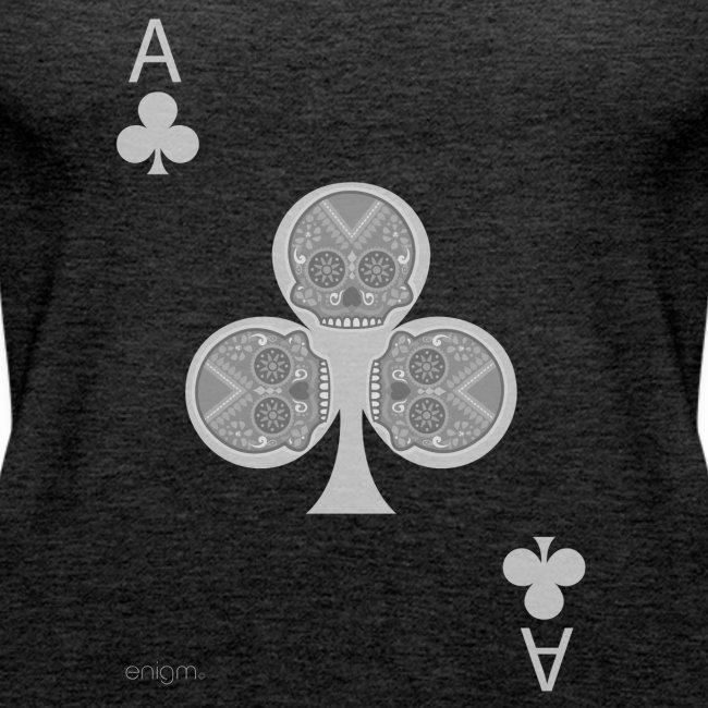 Ace of clubs -gray version- The skulls players