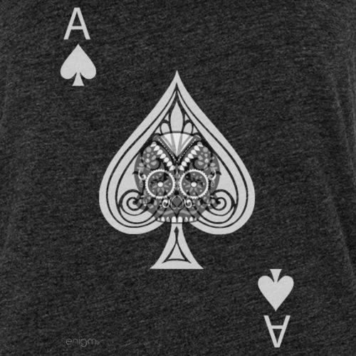 Ace of spades -gray version- The Skulls Players - Débardeur Premium Femme