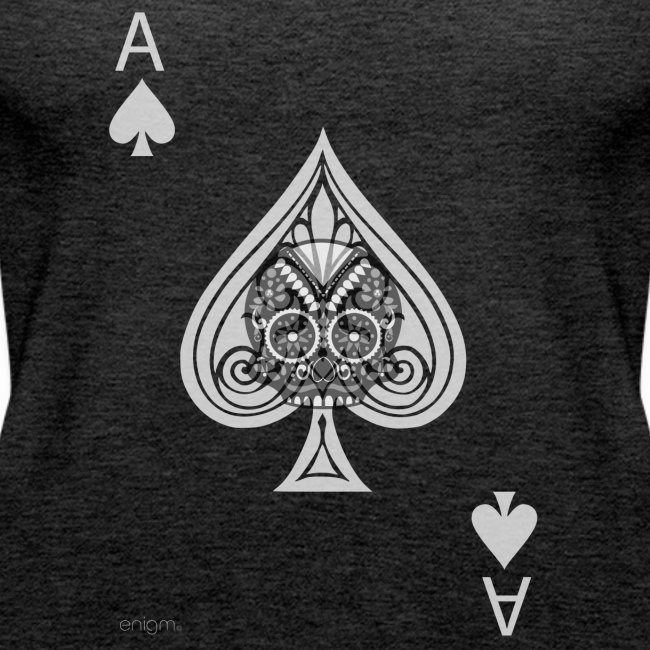 Ace of spades -gray version- The Skulls Players