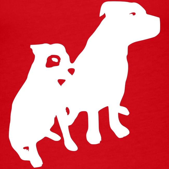 Doggy / zwei brave Hunde zum verschenken