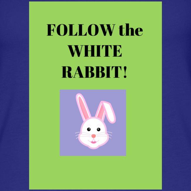 Follow the white rabbit Zeichnung