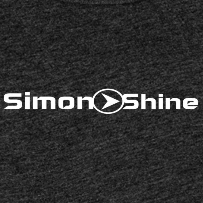 simon o shine logo white