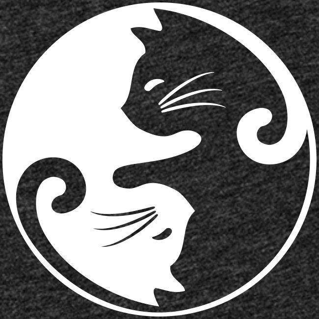 Vorschau: yin yang cat - Frauen Premium Tank Top
