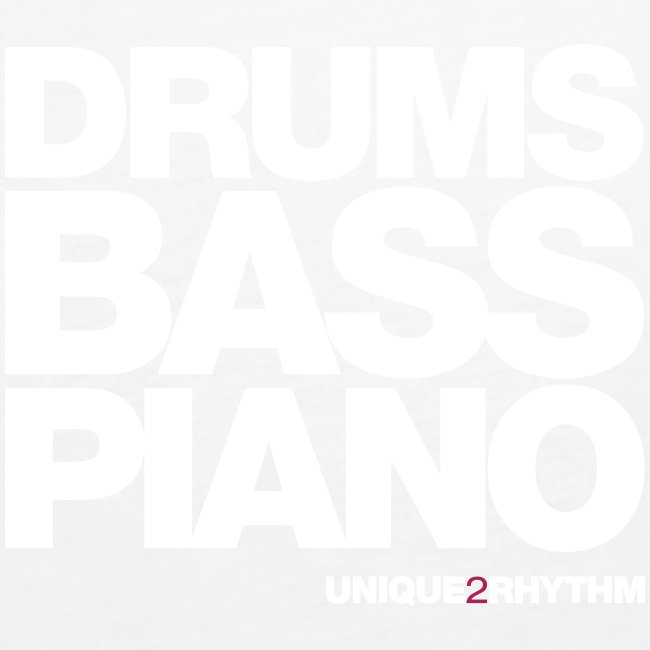 Drums Bass Piano