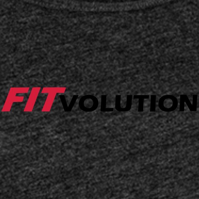 Kleines, schwarzes Fitvolution-Logo