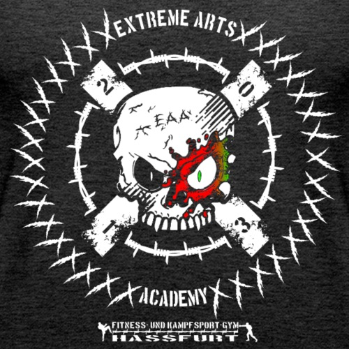 Extreme Arts Academy Vereins-Logo Black Flag - Frauen Premium Tank Top