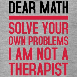 Dear Math - solve your own problems - Männer Premium Kapuzenjacke