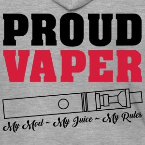 Proud Vaper - My Rules - Men's Premium Hooded Jacket