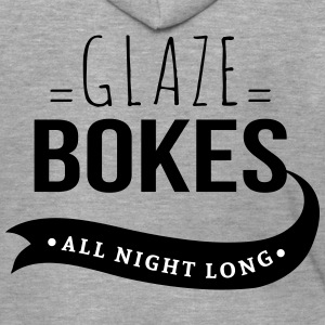 glaze bokes, All night long - Mannenjack Premium met capuchon