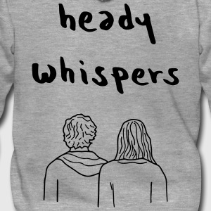 HEADY WHISPERS EP - Men's Premium Hooded Jacket