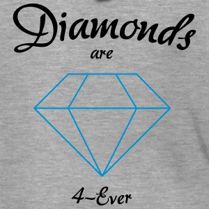 Diamonds are 4-Ever - Männer Premium Kapuzenjacke