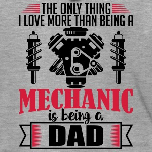 Mechanic Dad - funny fathers day gift - Men's Premium Hooded Jacket