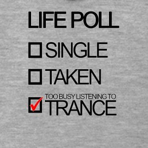Trance Life Poll - Men's Premium Hooded Jacket