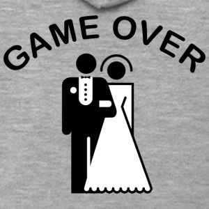 Game Over Just Married - Men's Premium Hooded Jacket