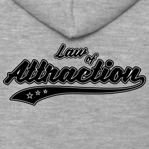 Law of Attraction - Men's Premium Hooded Jacket