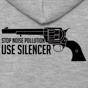 Militär / Soldaten: Stop Noise Pollution, Use - Männer Premium Kapuzenjacke