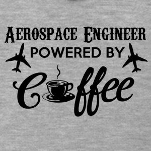 AEROSPACE ENGINEER POWERED BY COFFEE - Men's Premium Hooded Jacket
