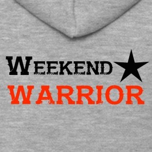 Shirt Weekend Warrior Weekend Party - Men's Premium Hooded Jacket