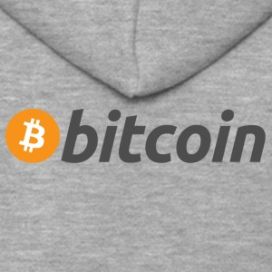 Bitcoin - Men's Premium Hooded Jacket