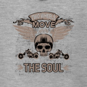 TWO WHEELS MOVE THE SOUL! - Men's Premium Hooded Jacket