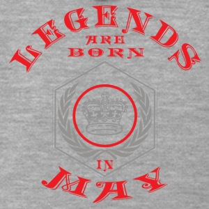 Legends may born birthday gift birth - Men's Premium Hooded Jacket
