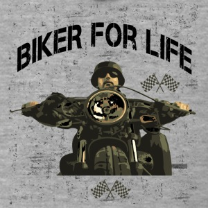 Motorcycle for life! - Men's Premium Hooded Jacket