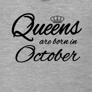 Queens Born October Princess Birthday Birthday - Men's Premium Hooded Jacket