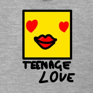 Self Picture Girl: Teenage Love - Men's Premium Hooded Jacket