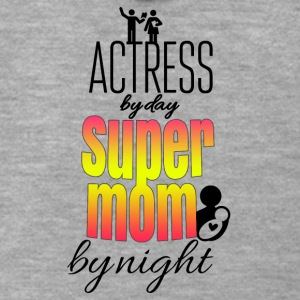 Actress by day super mom by night - Männer Premium Kapuzenjacke