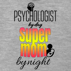 Psychologist by day super mom by night - Männer Premium Kapuzenjacke