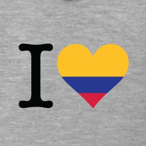 I Love Colombia - Men's Premium Hooded Jacket